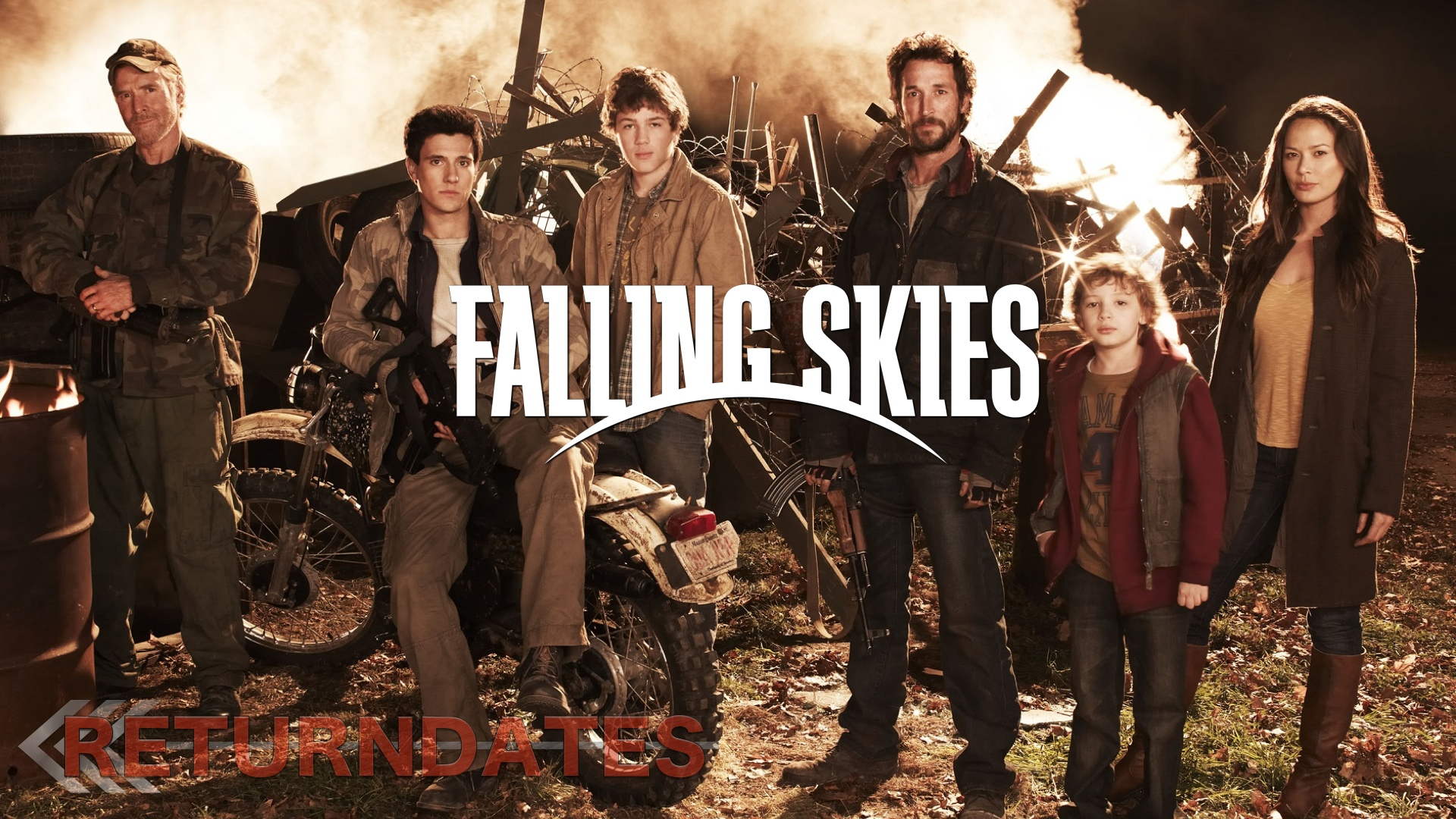 Falling Skies return date 2019 - premier & release dates of the tv ...