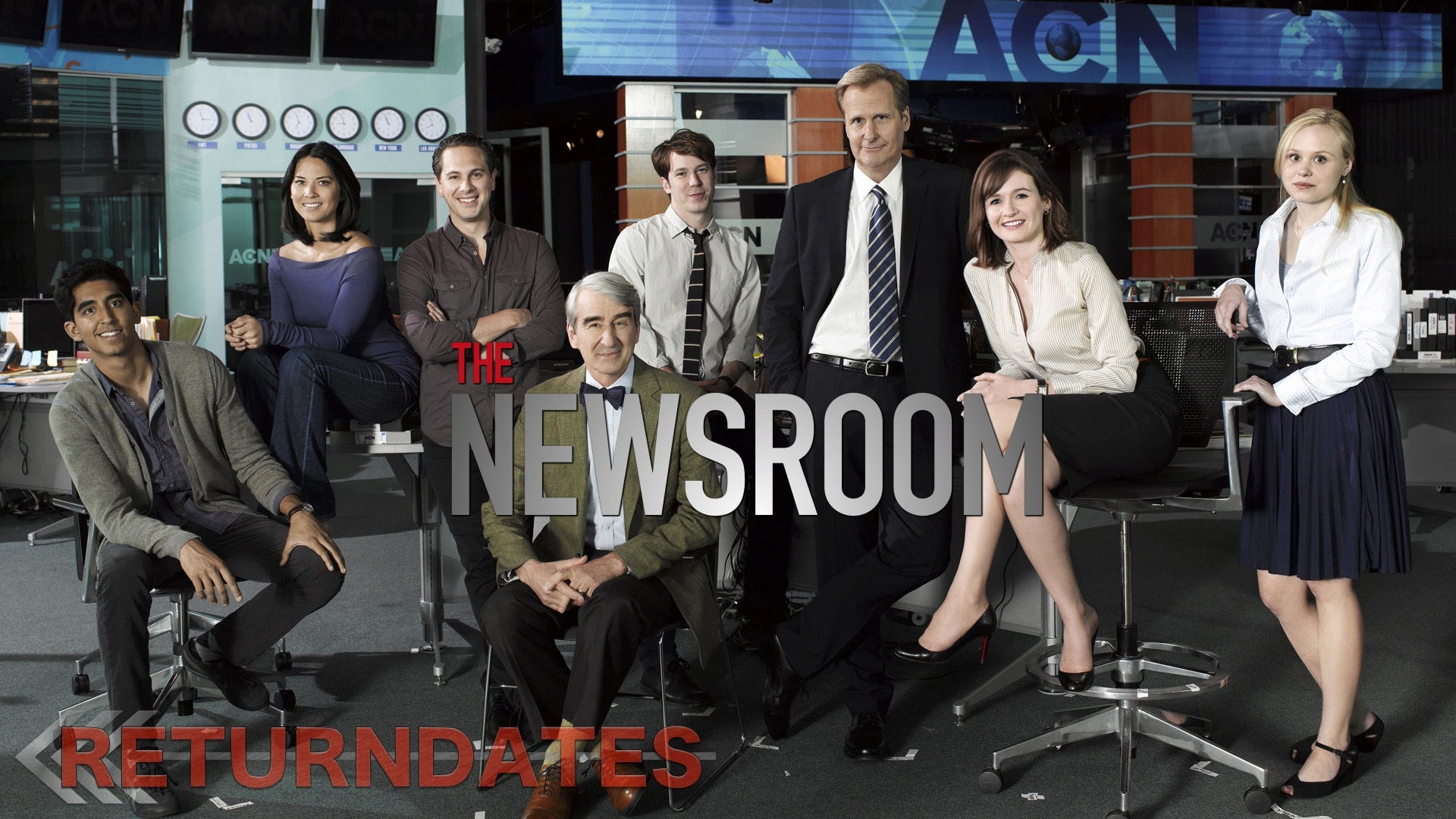 The Newsroom is an American television political drama series created and principally written by Aaron Sorkin that premiered on HBO on June 24, , and concluded on December 14, , consisting of 25 episodes over three seasons, with 52 to 73 minute long episodes.