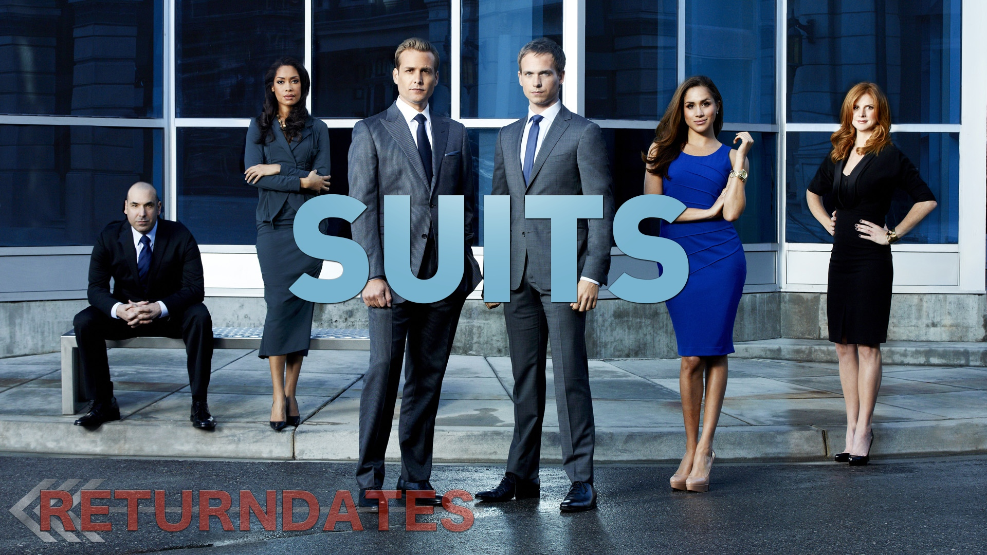 Suits return date in Brisbane